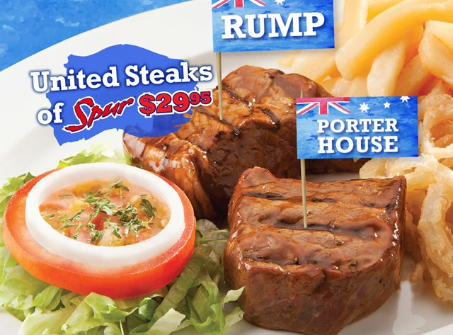 United Steaks Of Spur Special